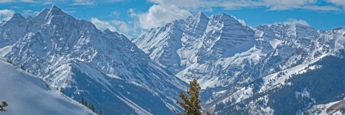 Maroon Bells - a different perspective